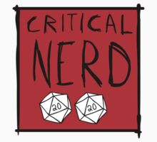 Critical Nerd Kids Clothes