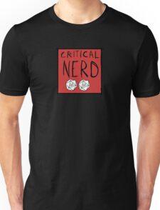 Critical Nerd Unisex T-Shirt