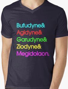 Persona& Spells& Hipster. Mens V-Neck T-Shirt