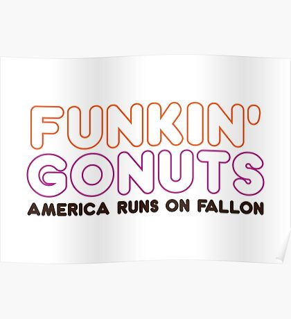 Funkin' Gonuts Poster