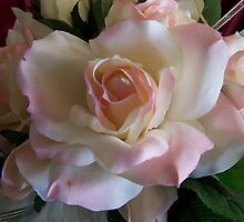 Silk Rose in pink by Mystique