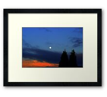 Once upon a time .... Framed Print