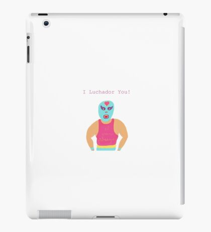 Lovely Luchador iPad Case/Skin