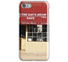It's the Cat's Meow Cafe, Markham, ON Canada iPhone Case/Skin