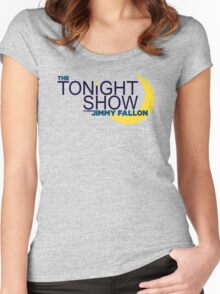 The Tonight Show starring Jimmy Fallon Women's Fitted Scoop T-Shirt