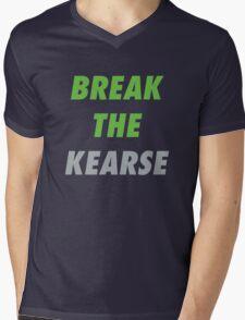 Break the Kearse Mens V-Neck T-Shirt