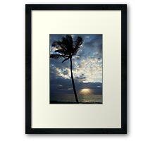 Wailea Paradise Framed Print