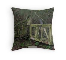 Dog - Gone Throw Pillow