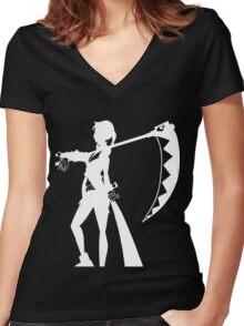 Scyth Master Women's Fitted V-Neck T-Shirt