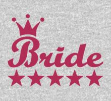 Bride One Piece - Short Sleeve