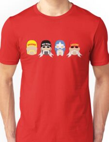 Four Stages of BrotherMania! Unisex T-Shirt