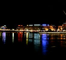 Geneva at Night by Alex King