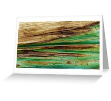 Sea of Green Greeting Card