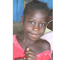 Montserrado Girl. Liberia Photographic Print