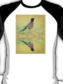 American Robin At Water's Edge T-Shirt