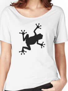 Black frog Women's Relaxed Fit T-Shirt