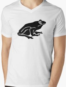 Toad frog Mens V-Neck T-Shirt