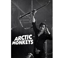 alex turner with guitar Photographic Print