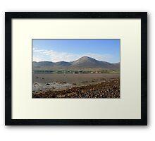 Croagh Patrick summer view Framed Print