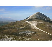 Croagh Patrick mountain Photographic Print