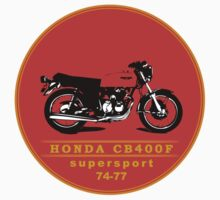 HONDA CB400F SUPERSPORT  by VisualAffection