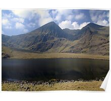 Carrauntoohil in summer Poster