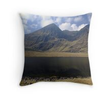 Carrauntoohil in summer Throw Pillow