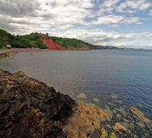 Babbacombe Bay Near Torquay, Devon by atomov