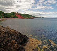 Babbacombe Bay Near Torquay, Devon by atomov