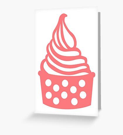 Frozen Yogurt Greeting Card
