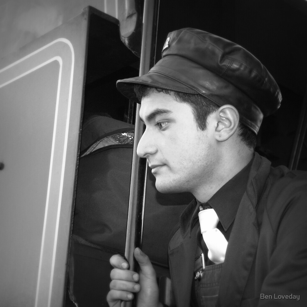 The Train Driver by Ben Loveday