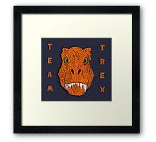 TEAM TREX!!! Framed Print