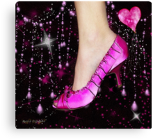 I Love My Pink Shoes!! (Views: 9630 :o) Canvas Print