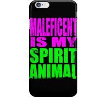 Maleficent is my Spirit Animal iPhone Case/Skin