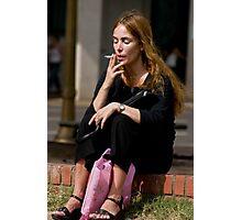 The Smoker Photographic Print
