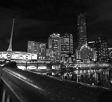 Southbank - Melbourne by Andrew Willesee