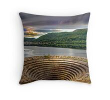Plughole Throw Pillow