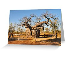 The Prison Tree Greeting Card