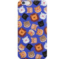 Smiley cats iPhone Case/Skin
