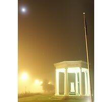 Cenotaph fog 4am Photographic Print