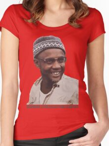 Amilcar Cabral Women's Fitted Scoop T-Shirt