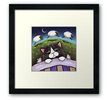 Sheep Dreams Framed Print