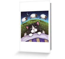 Sheep Dreams Greeting Card