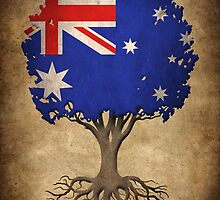 Tree of Life with Australian Flag by Jeff Bartels