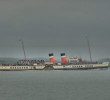 Waverley, steaming around Shuna by Alisdair Gurney