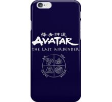 Avatar, the Last Airbender, Four Nations, Ang iPhone Case/Skin