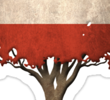 Tree of Life with Austrian Flag Sticker