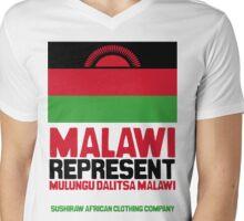 Malawi, represent Mens V-Neck T-Shirt