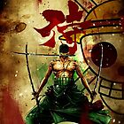 kanji + zoro by makoy