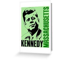 KENNEDY-MASSACHUSETTS Greeting Card